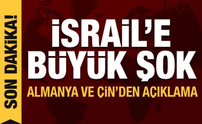 İsrail'e Af Örgütü'nden büyük şok! Almanya ve Çin'den de son dakika açıklaması