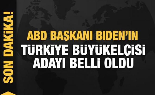 Joe Biden'ın Türkiye Büyükelçisi adayı belli oldu