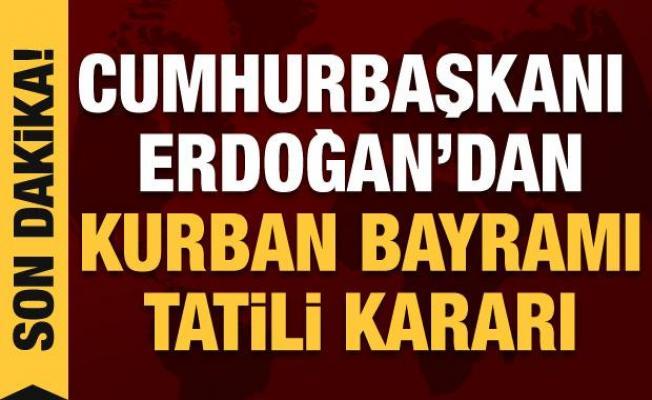Kabine sona erdi gözler Erdoğan'da: Tatil kaç gün olacak?