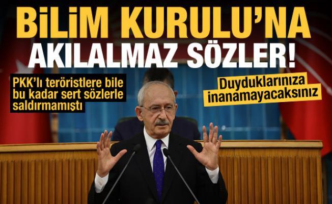 Kılıçdaroğlu'ndan Bilim Kurulu'na ağır hakaretler: Ne dedikleri belli değil