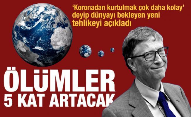 'Kovid'den kurtulmak daha kolay' diyen Bill Gates yeni tehlikeyi duyurdu: Ölümler 5 kat artacak