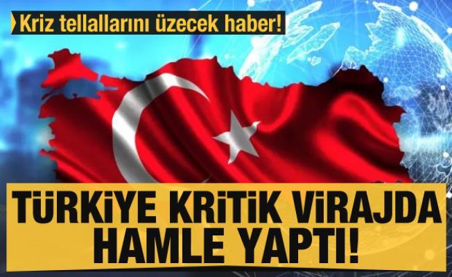 Kriz tellallarını üzecek haber! Türkiye kritik virajda hamle yaptı
