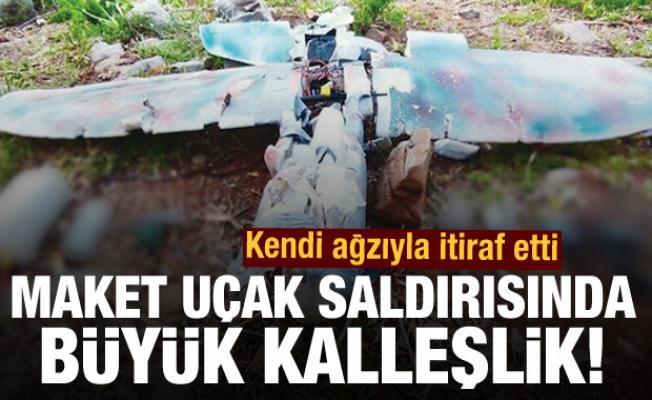 Maket uçak saldırısının ardından FETÖ çıktı