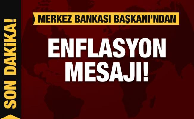 Merkez Bankası Başkanı Kavcıoğlu'dan enflasyon mesajı