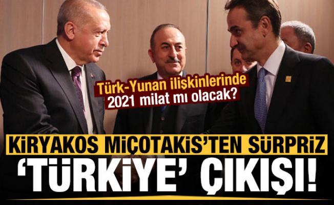 Miçotakis'ten sürpriz 'Türkiye' açıklaması!