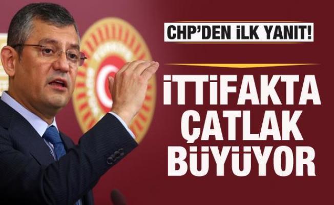 Millet İttifakı'nda çatlak büyüyor! CHP'den Buldan'a cevap