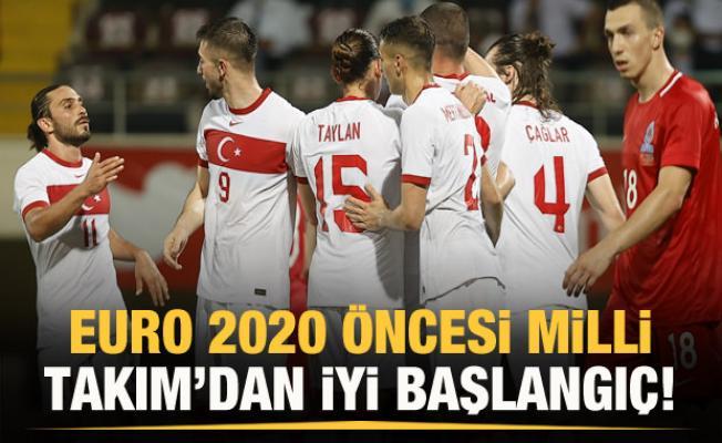 Milli Takım'dan Azerbaycan karşısında güzel prova!