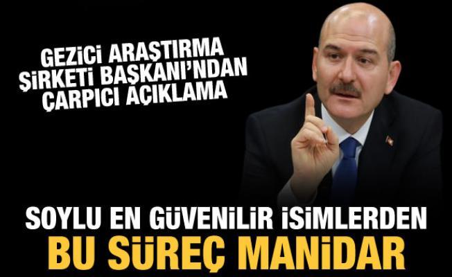 Murat Gezici'den dikkat çeken açıklama: Soylu en güvenilen isimler arasında
