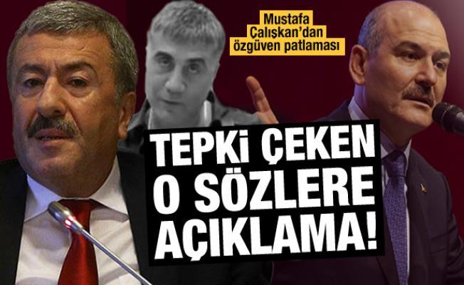 Mustafa Çalışkan'dan tepki çeken sözlere açıklama!