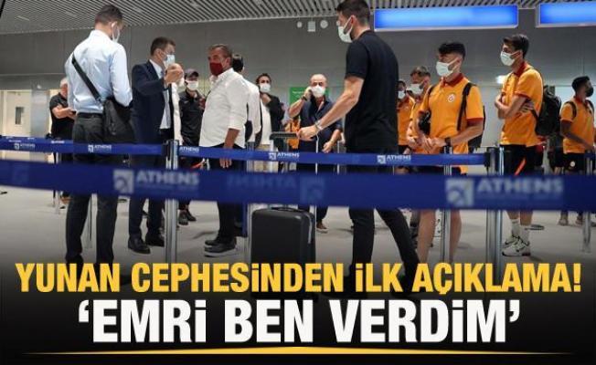 Nikos Chardalias: Emrimle kafilenin ülkemize girmesine izin verilmedi