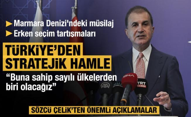 Ömer Çelik'ten AK Parti MKYK sonrası açıklamalar...