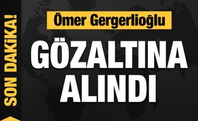 Ömer Gergerlioğlu Ankara'da gözaltına alındı