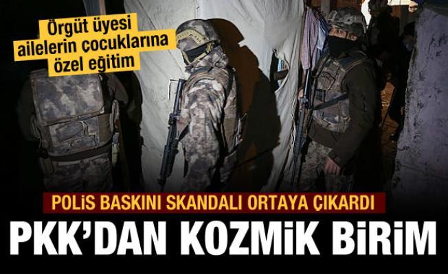 PKK'nın kozmik derneği ortaya çıktı