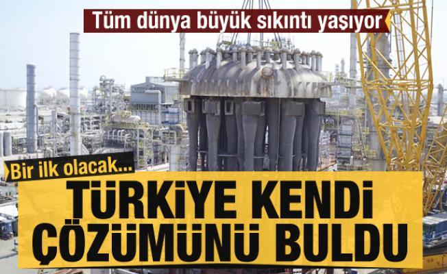 Polipropilen madde sıkıntısına Türkiye kendi çözümünü buldu