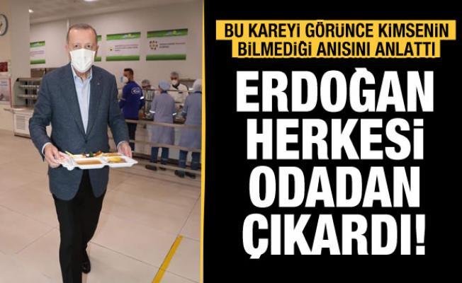 Prof. Dr. Mustafa Şahin'den duygulandıran Erdoğan anısı