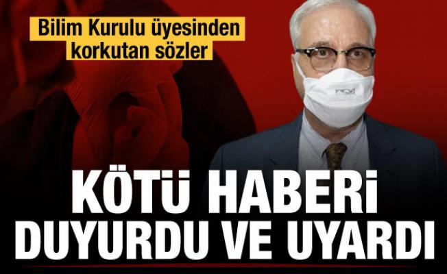 Prof. Dr. Tevfik Özlü kötü haberi duyurdu ve uyardı