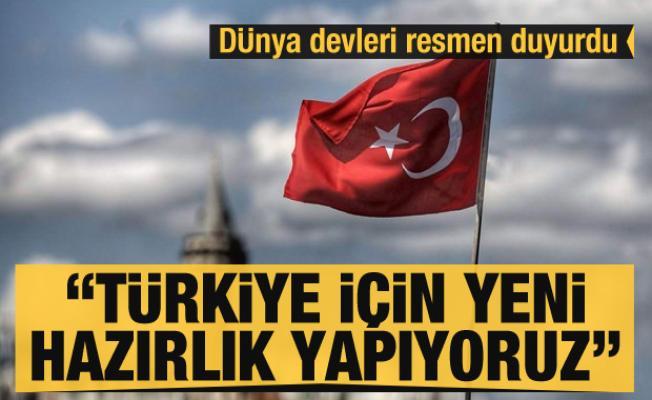 Resmen açıkladılar: Dünya devleri Türkiye'ye yeni yatırıma hazırlanıyor