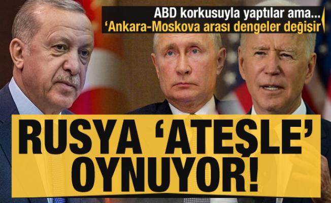 Rusya 'ateşle' oynuyor! ABD korkusuyla yaptılar: Türkiye ile dengeler değişebilir