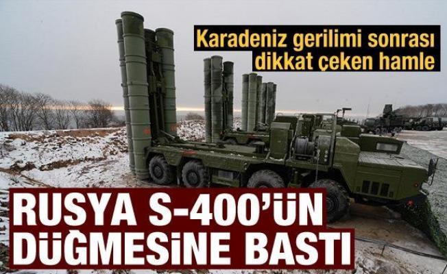 Rusya, Karadeniz kıyısında S-400 sistemleriyle tatbikat gerçekleştirdi
