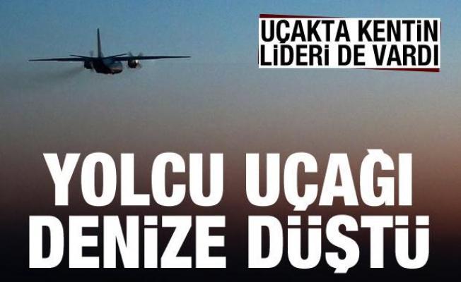 Rusya'da yolcu uçağı denize düştü! Kimse sağ kurtulamadı, uçakta kentin lideri de vardı...
