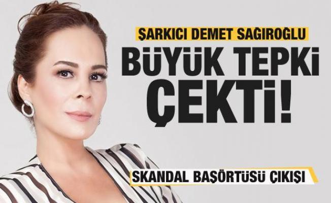 Şarkıcı Demet Sağıroğlu'ndan tepki çeken 'Başörtüsü' paylaşımı