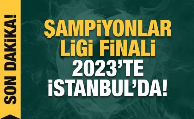Şmpiyonlar Ligi finali 2023'te İstanbul'da