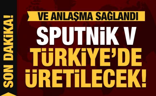 Son dakika: Anlaşma sağlandı! Rus aşısı Sputnik-V Türkiye'de üretime başlıyor