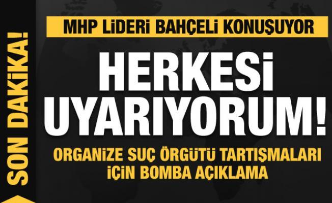 Son dakika: Bahçeli'den Sedat Peker'e Süleyman Soylu ayarı! Bomba açıklamalar