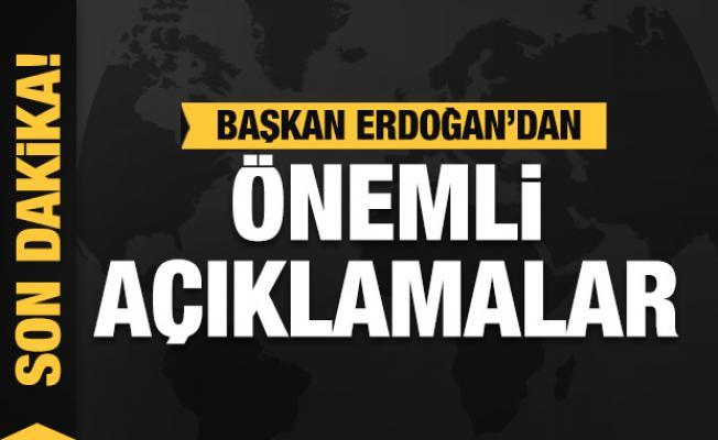 Son Dakika: Başkan Erdoğan: Cezalar kesilmeye başlanınca kuzuya döndüler