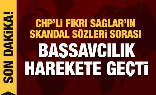 Son dakika: CHP'li Fikri Sağlar'a soruşturma