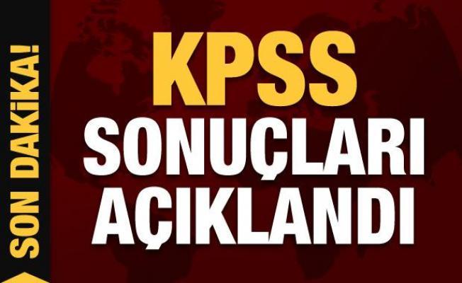 Son dakika haber: KPSS sonuçları açıklandı