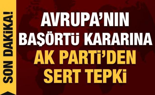 Son dakika haberi: AK Parti Sözcüsü Çelik'ten Avrupa Adalet Divanı'na tepki