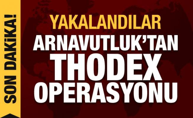 Son dakika haberi: Arnavutluk polisinden Thodex operasyonu, yakalandılar