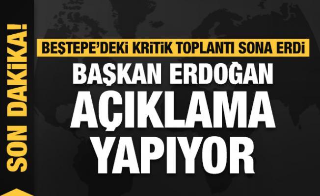 Son dakika haberi... Başkan Erdoğan açıklama yapıyor