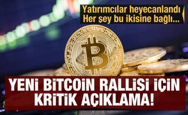 Son dakika haberi: Bitcoin rallisi için heyecanlandıran açıklama: Gözler 38 bin dolarda