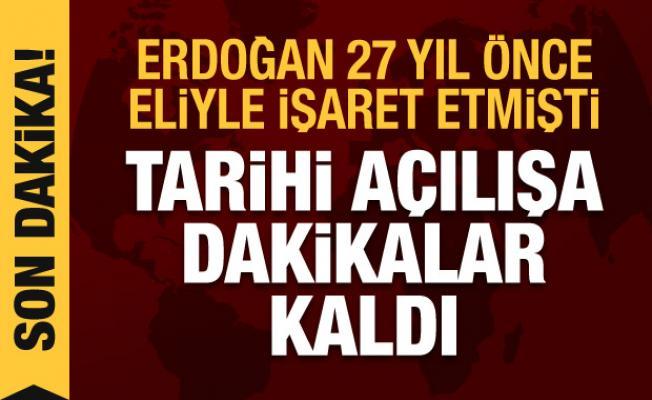 Son Dakika Haberi: Erdoğan 27 yıllık hayali gerçekleştiriyor! Taksim Camii açılıyor