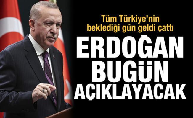 Son Dakika Haberi: Erdoğan müjdeyi açıklayacak