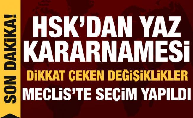 Son dakika haberi: HSK kararname yayımladı, 3 bin 70 hakim-savcının yeri değişti
