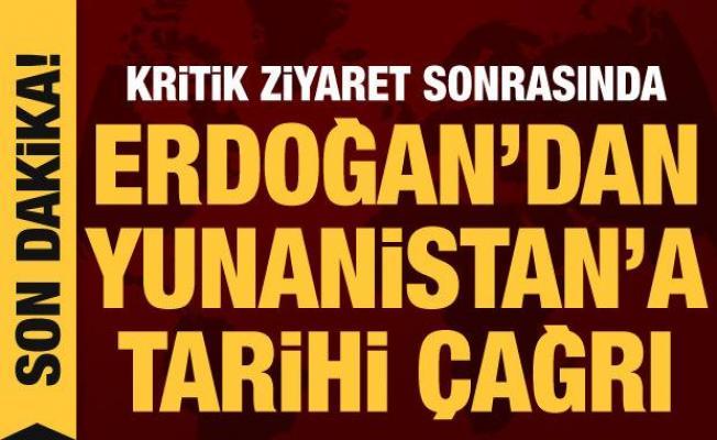 Son dakika haberi: KKTC ziyareti sonrası Erdoğan'dan Yunanistan'a tarihi çağrı