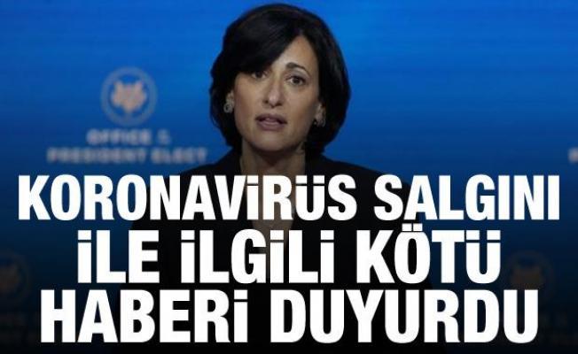 Son Dakika Haberi: Koronavirüs salgını ile ilgili kötü haberi duyurdu