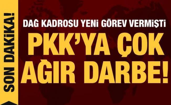 Son dakika haberi: PKK'nın sözde eyalet sorumlusu etkisiz hale getirildi