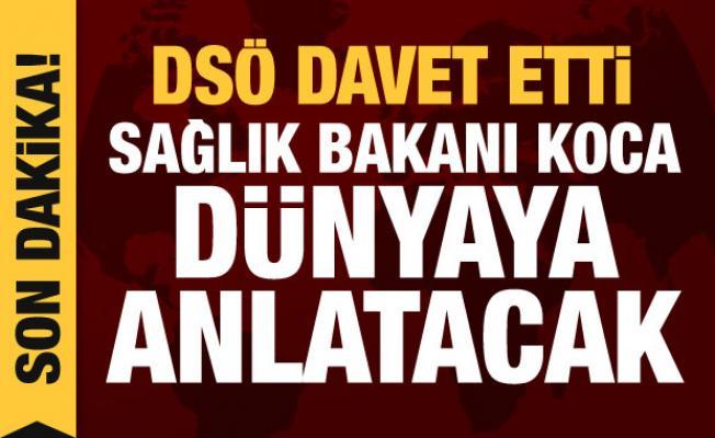 Son dakika haberi: Sağlık Bakanı Koca, koronavirüsü DSÖ brifinginde anlatacak