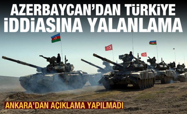 Son dakika haberleri: Azerbaycan'dan Türkiye iddiasına yalanlama