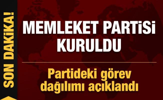 Son dakika... Memleket Partisi kuruldu: Muharrem İnce parti başkanlığına seçildi