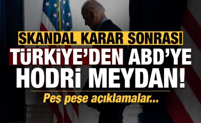 Son dakika: Türkiye'den ABD'ye hodri meydan! Peş  peşe açıklamalar
