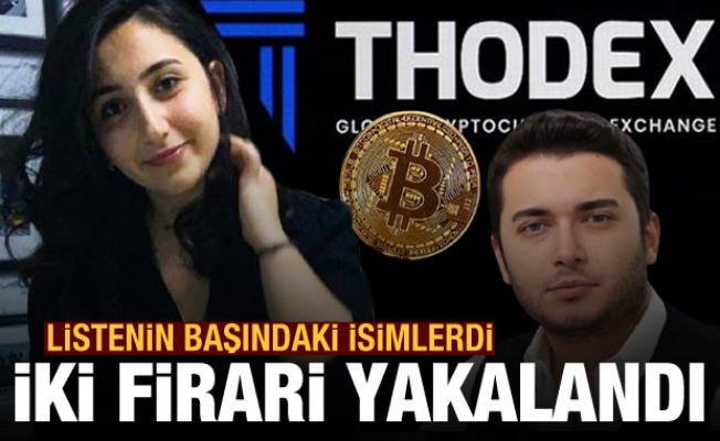 Soruşturmada kilit isimlerdi! Thodex firari iki kişi yakalandı