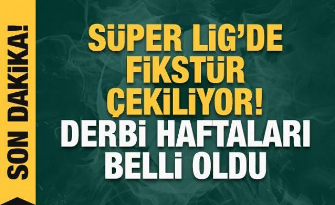 Süper Lig'de fikstür çekiliyor! CANLI