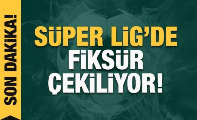 Süper Lig'de fikstür çekimi! CANLI