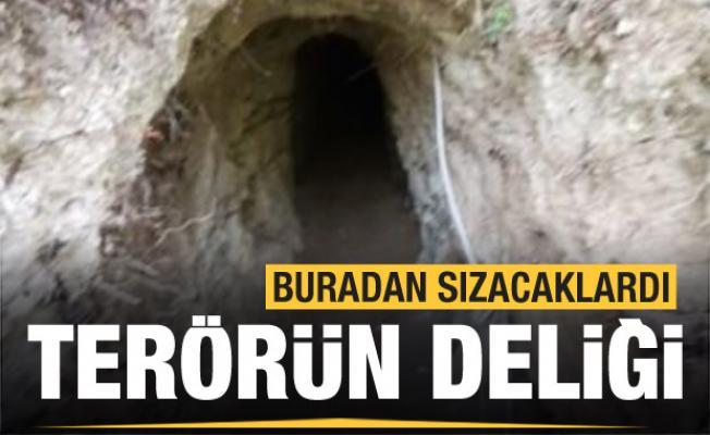 Suriye sınırında 250 metrelik tünel! Türkiye'ye buradan sızacaklardı