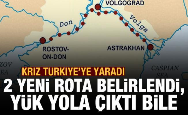 Süveyş krizi rotayı Türkiye'ye çevirdi! İki yeni rota belirlendi, yük yola çıktı bile